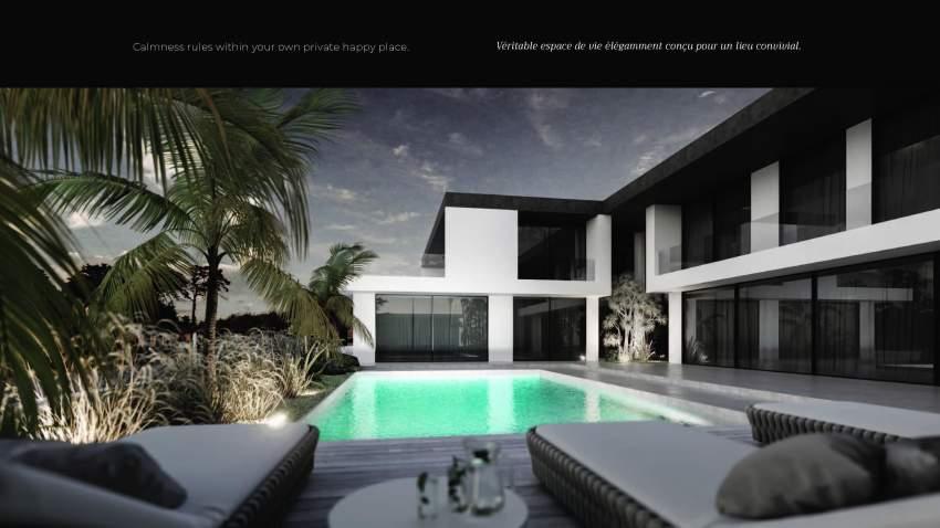 Villas de luxe à grand baie