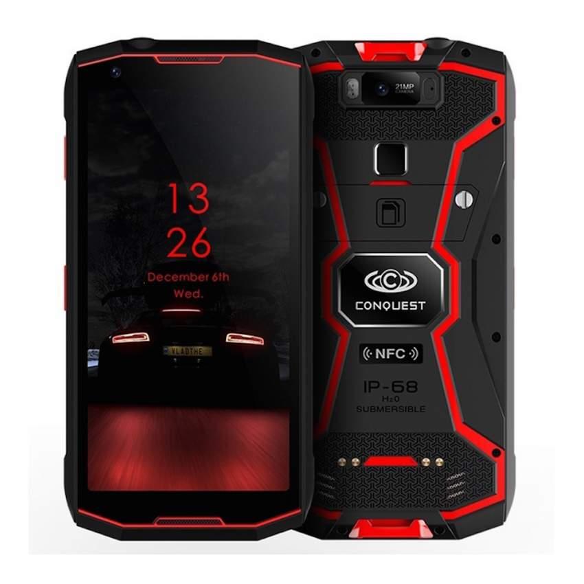 Conquest S12 Pro Rugged Phone, 6GB+128GB