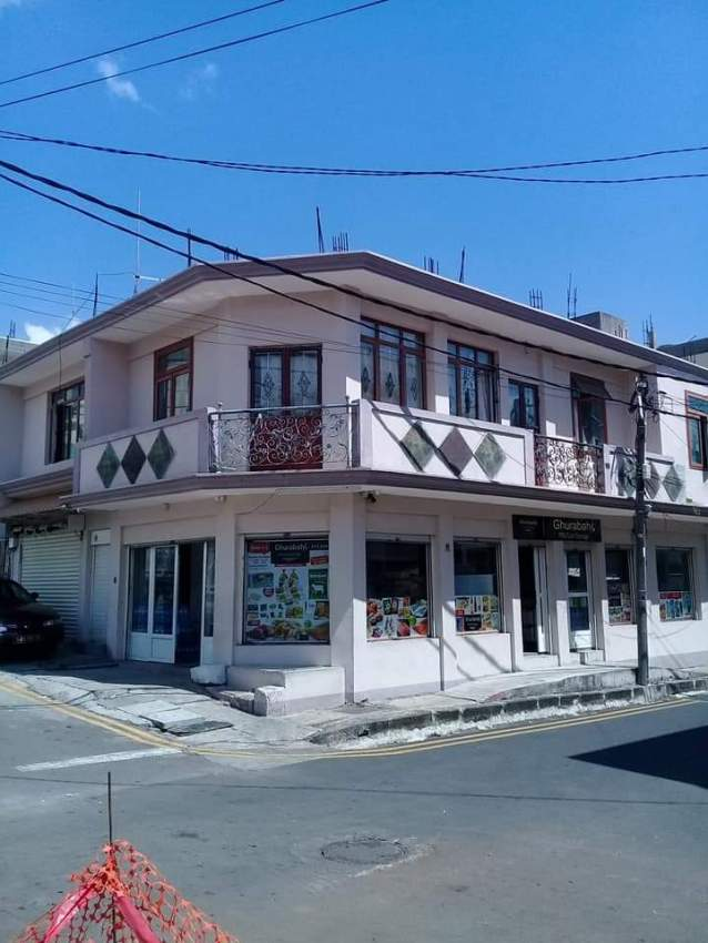 Commercial shop and home for sale