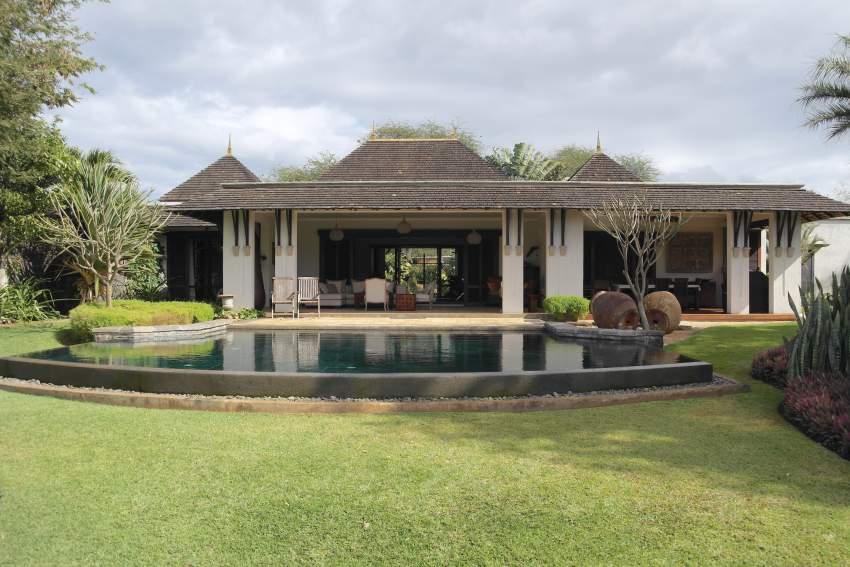 Tamarin luxueuse villa IRS sur un golf à 2 pas de la plage