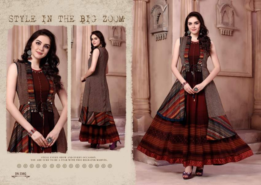 Designer Kurti Sayonee 70764 - Indian dresses at AsterVender