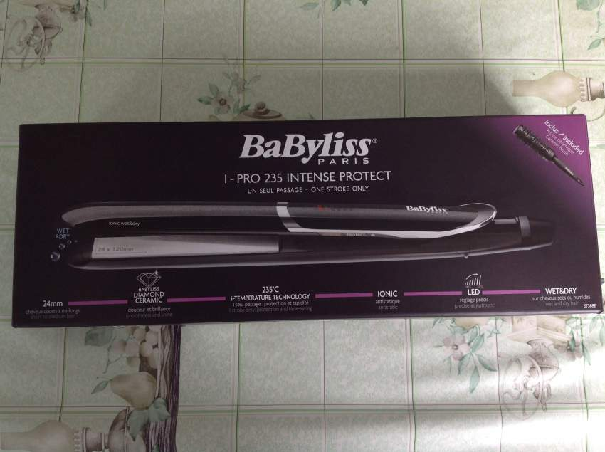 Babyliss Hair Straightener I-PRO 235 Intense Protect Wet & Dry - Other Hair Care Tools at AsterVender