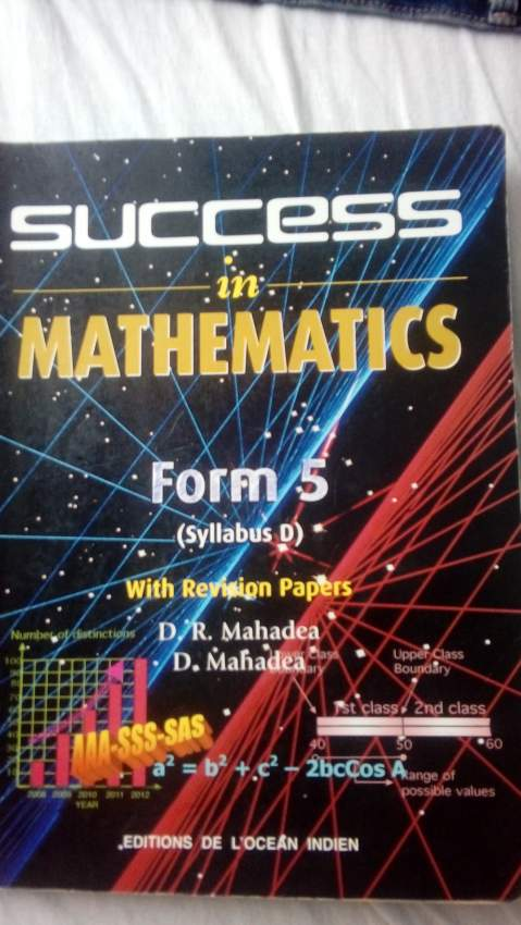 Maths o level(form 5)