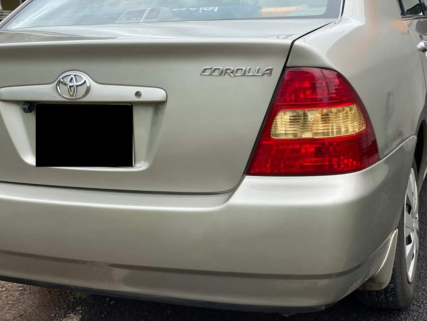 Toyota Corolla 1490cc - Family Cars at AsterVender