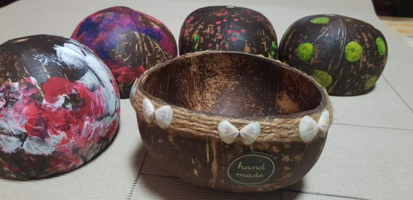 Coconut  bowl deco