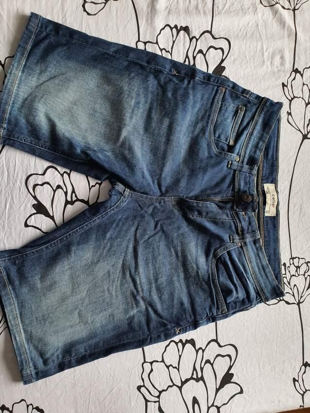 Celio denim shorts size 32/33