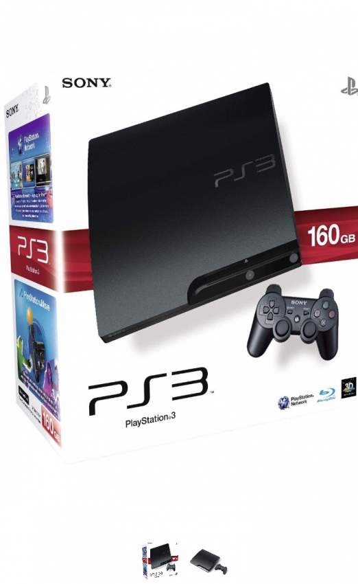 PS3 console new with controller