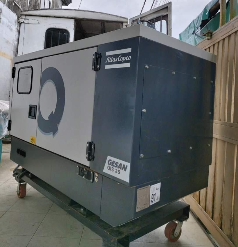 Generator 25kVa diesel for rent