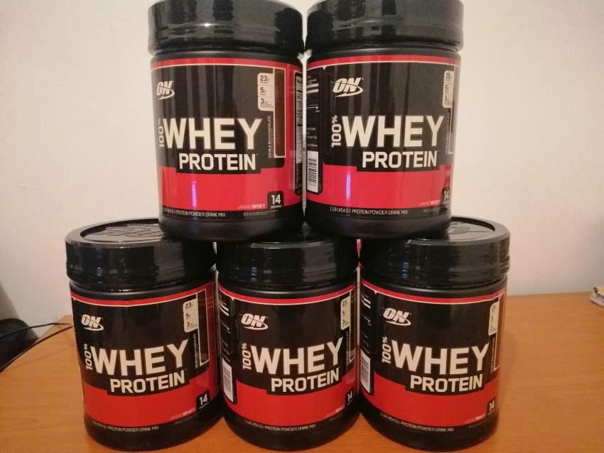 100% whey protein Optimum nutrition