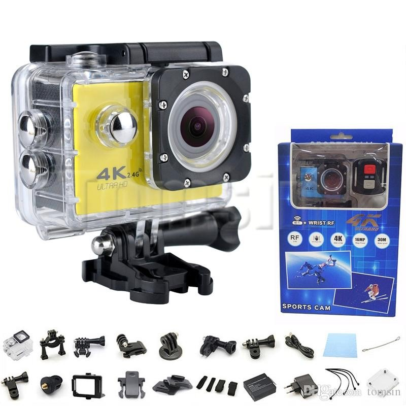 Sport Cam Waterproof 30M, 16 Mega, 4K, WIFi, Image Stabilisation - All Informatics Products at AsterVender