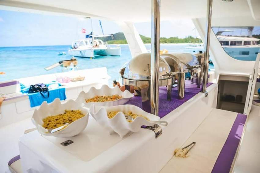 Beach Wedding (100-350 guests) or on Catamaran 35 guests - Events at AsterVender
