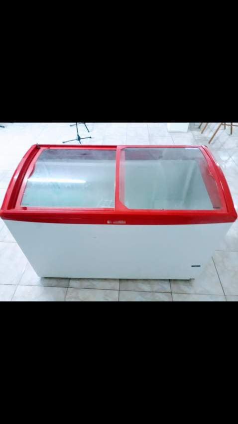 Ice cream freezer sanden
