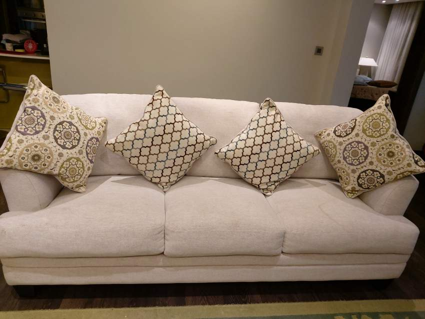 Six seater sofa set