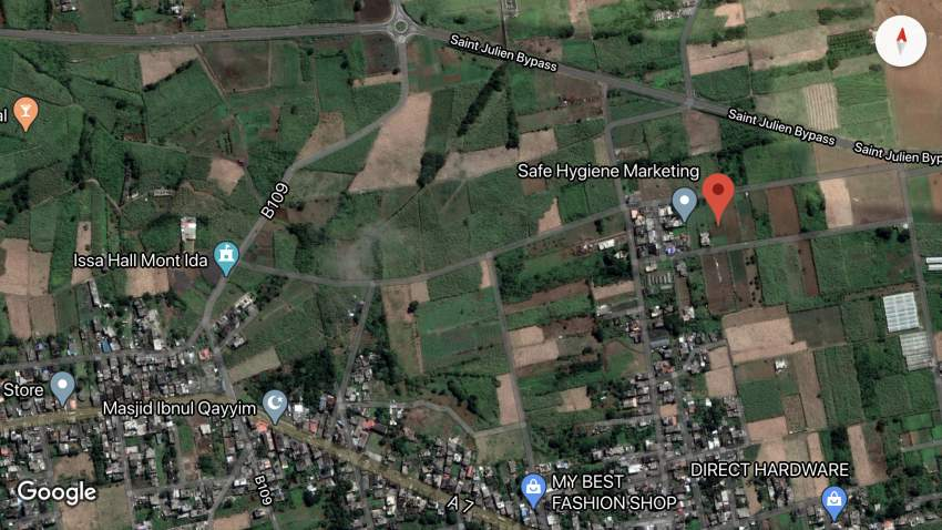 RESIDENTIAL LAND FOR SALE AT MONT-IDA FLACQ (28.2 PERCHES)