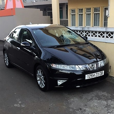 sale honda civic fk manual  black aster vender